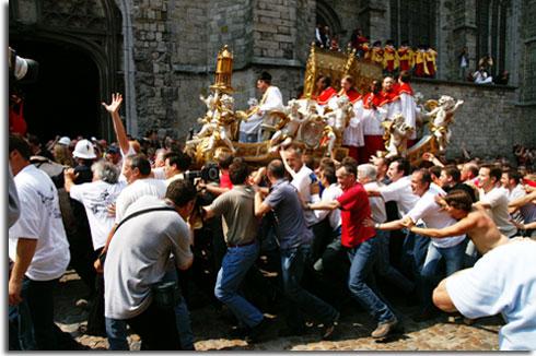Doudou 2008 Mons Le Doudou Ducasse Rituelle De Mons