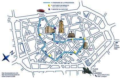 Groupes Constituant La Procession Du Car D 39 Or Le Dimanche